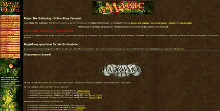 Magic Online Shop